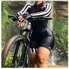 2020 pro equipe triathlon terno feminino preto camisa de ciclismo skinsuit macacão maillot ciclismo ropa ciclismo conjunto rosa gel almofada 10