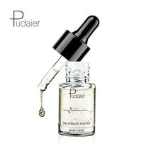 PUDAIER 15ml Face Lip Makeup Primer Essence Oil 24k Gold Face Hyaluronic Acid Moisturizer Essence Liquid Foundation Cosmetics недорого
