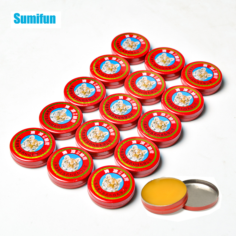 1/5/10pcs Tiger Balm Cooling Oil Refresh Cream Anti-itching Cold Headache Muscle Rub Aches Pain Relief Ointment P0059