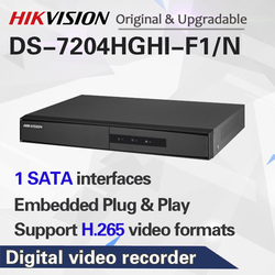 HIKVISION English Version DS-7204HGHI-F1/N 1080P and DS-2CE16D0T-IRF 4CH KITS with HDD Optional