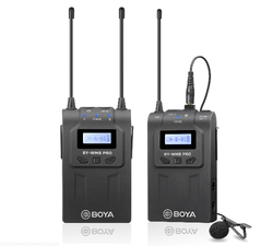 Boya By-Wm8 Pro-K1 Uhf Wireless Lavalier Microphone Kit For Eng Efp Dslr Camera