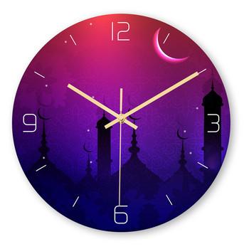 Wycisz bezgłośny zegar ścienny strona główna nowoczesna dekoracja Ramadan Festival Metal islamski zegar ścienny artystyczny wystrój domu islamski wystrój tanie i dobre opinie ISHOWTIENDA CN (pochodzenie) Nowoczesne 0614 GEOMETRIC S SHOWN Jedna twarz Cyfrowy ZAGARY ŚCIENNE AS SHOWN Obracalne w starodawnym stylu
