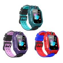 Z6 crianças relógio inteligente à prova d2 água 2g sim cartão gps rastreador sos anti perdido relógio inteligente para ios android telefone móvel relógios