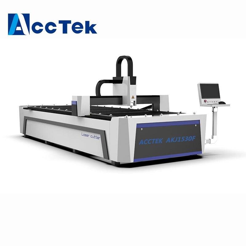 Taiwan YYC Gear Rack Transmission 3015 Fiber Laser Cutting Machine For Aluminum Copper With 750W IPG Laser Generator