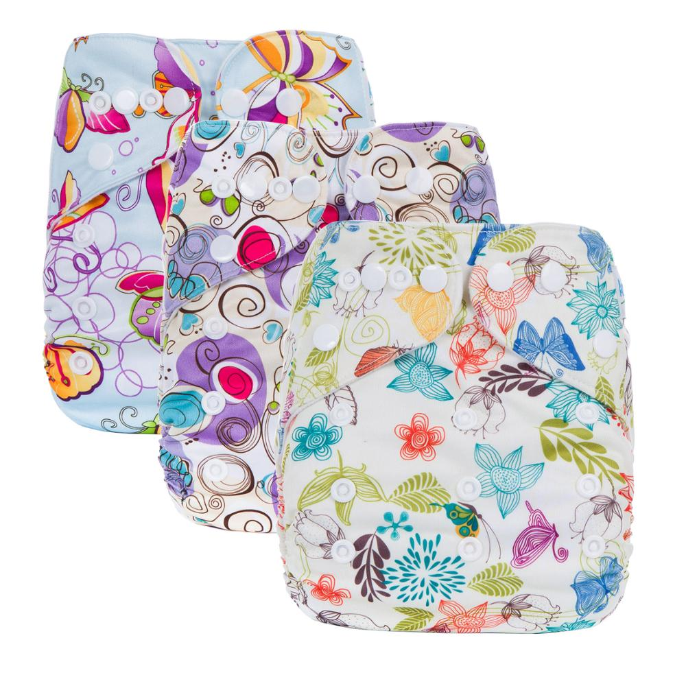 All In One Cloth Nappies China Organic Cloth Pocket Diapers Waterproof Nappies J Series