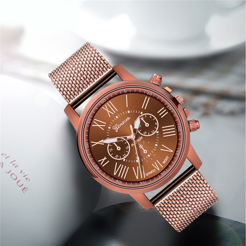 Luxury women Quartz Wrist Watch Temperament lady Watch Stainless Steel Dial Casual Bracele Watches relogio feminino A4 He6dc5d112b9449f48c31dec6d07c195c3