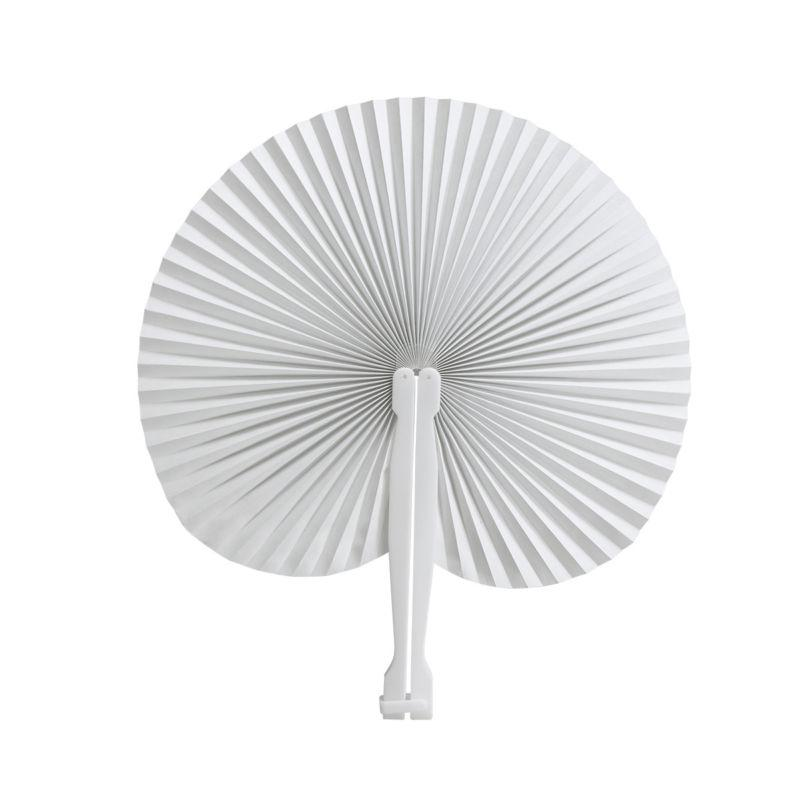 60pcs Handheld Fans Paper Folded Fan Home Decor Decoration Crafts Decorative Fans For Wedding Party