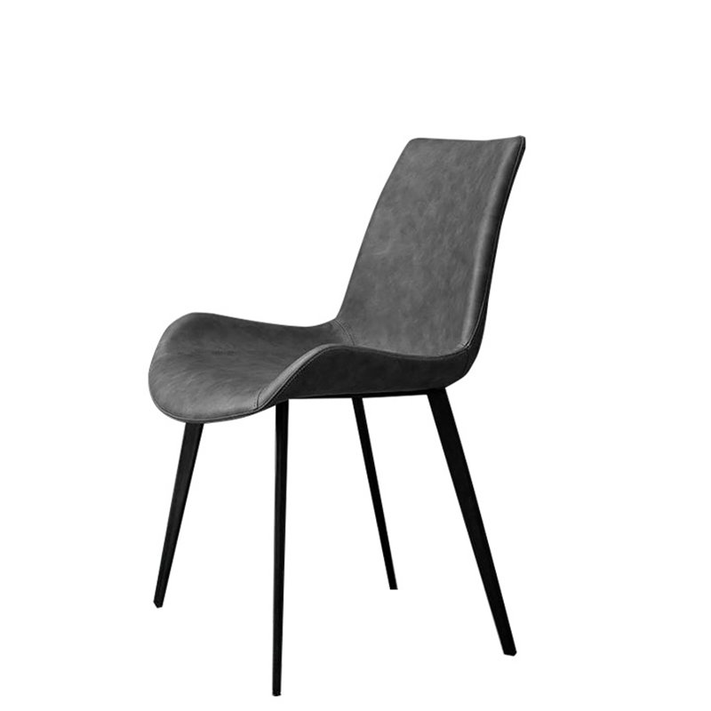 Nordic Dining Chair Modern Simple Back Iron  Domestic Restaurant Economic Stool Ins  Net Red