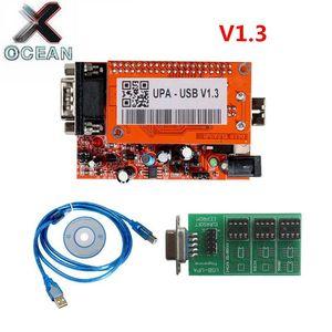 Новый UUSP UPA Usb 1,3 eeprom адаптер программист диагностический инструмент UPA-USB ECU чип Тюнинг инструмент UPA USB V1.3 с полным адаптером