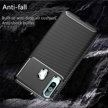 Case For HuaWei P30 P30 Lite P30 Pro Luxury carbon fiber phone case for mate 20 20x 20 pro honor 8C 8a 9x max enjoy max y9 2019.(China)