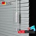Алюминиевые оконные жалюзи 25 мм по индивидуальному заказу  УФ-защита  сверление или без системы сверления  светонепроницаемые венецианские...