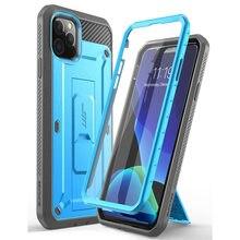 Étui pour iPhone 11 Pro 5.8 pouces UB Pro étui robuste complet avec protecteur décran intégré et béquille
