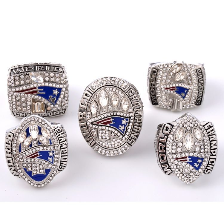 Nouvelle angleterre Patriot Super Bowl Champion anneau 2001 03 2004 2015 2017 Alibaba Express livraison gratuite pas de commande minimum