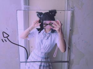 Image 4 - 로리타 애니메이션 코스프레 롱 모피 폭스 귀 헤어 클립 파티 네코 고양이 귀 파티 크리스마스 머리띠 세트 여자 여자 파티 소품