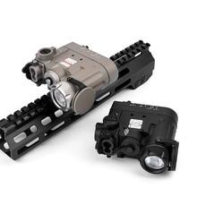 WADSN Airsoft taktik DBAL D2 silah kırmızı IR lazer Sight DBAL MKII çok fonksiyonlu Softair ScoutLights meşale
