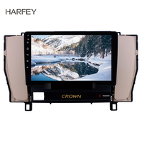 Harfey 9 Android GPS HD Touchscreen Car Radio For Toyota old crown 2010 2014 left driver hand DVR OBD II USB Rear camera SWC