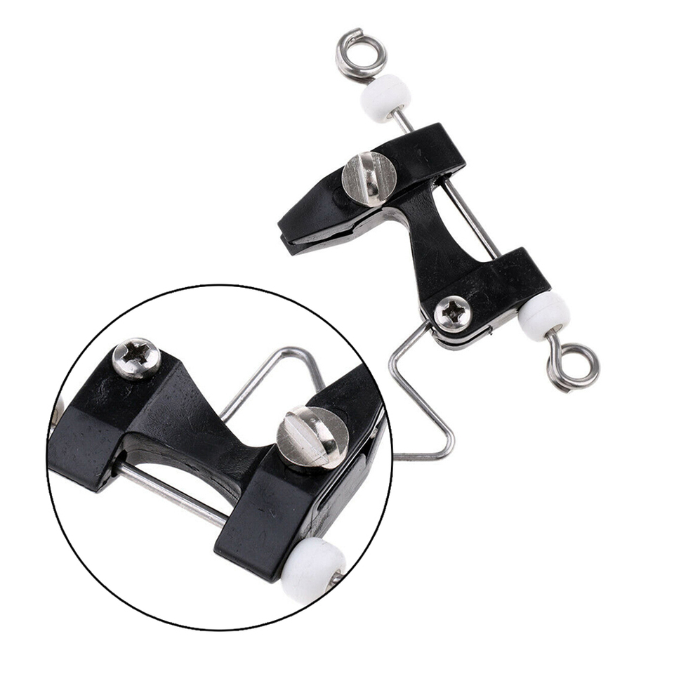 Outrigger,Downrigger 4Pcs Trolling Clip Release Clips Boat Fishing for Kite