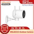Глобальная версия Imilab Mihome безопасности Камера Mijia Ip Камера 025 EC3 открытый обновление 2K HD CCTV Wi-Fi роутер с возможностью поворота
