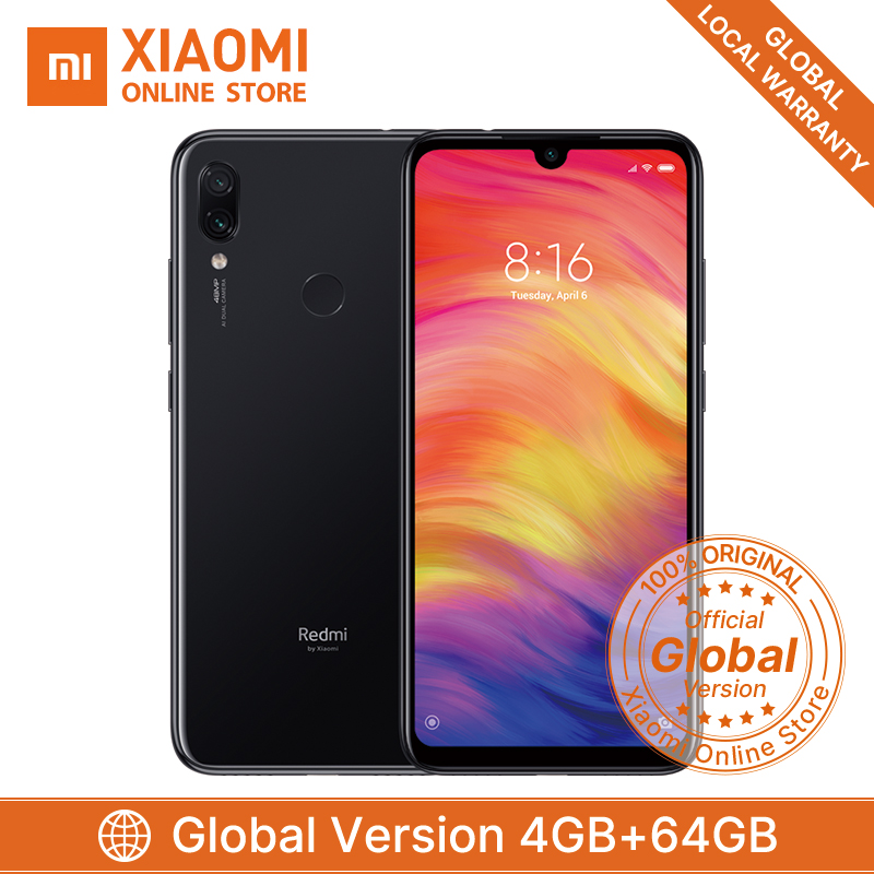 "Globale Version Xiaomi Redmi Hinweis 7 4GB RAM 64GB ROM Smartphone Snapdragon 660 Octa Core 4000mAh 6,3 ""Display 48MP + 5MP Smartphone-in Handys aus Handys & Telekommunikation bei AliExpress - 11.11_Doppel-11Tag der Singles 1"