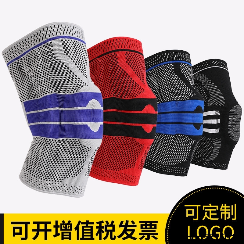Sports Kneecaps Cross Border Spring Knitted Nylon Kneecap Riding Basketball Outdoor Mountain Climbing Manufacturers Sport Ware