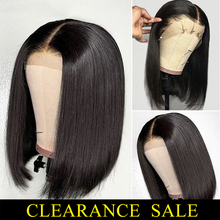 Short Human Hair Wigs 13*4 Lace Frontal Wig