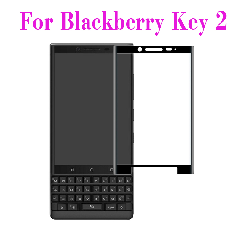 3D Tempered Glass For Blackberry Keytwo Full Screen Cover Explosion-proof Screen Protector Film For Blackberry Key 2 Key2(China)