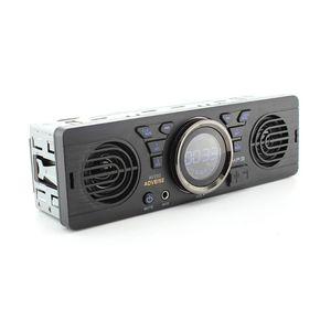 12V автомобиль MP3 радио плеер 2 Динамик Стерео FM Bluetooth 2,1 USB/TF карты Порты и разъёмы