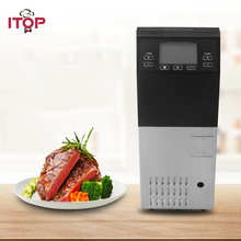 ITOP 1500W Commercial Sous Vide Cooker Low Temperature Circulator Specific Thermal Immersion Steak Slow Cooking Machine itop low temperature vacuum cook machine steak cooker vacuum food processing machine pure boiled sous vide cooking