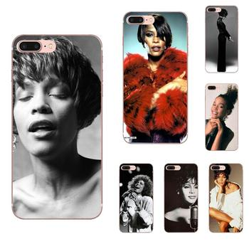 For LG G3 G4 G5 G6 G7 K4 K7 K8 K10 K40 K50 Q6 Q60 V10 V20 V30 V40 Nexus 5 5X 2017 Soft Patterns Sexy Singer Whitney Houston image