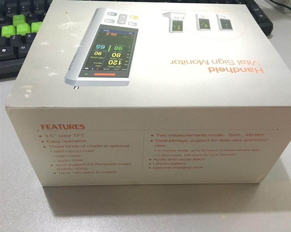 Image 5 - Монитор Vital Sign, используемый для взрослых/детей и новорожденных. Измерение температуры Spo2, ручной пульсоксиметр, окислитель Spo2Адаптеры AC/DC    АлиЭкспресс