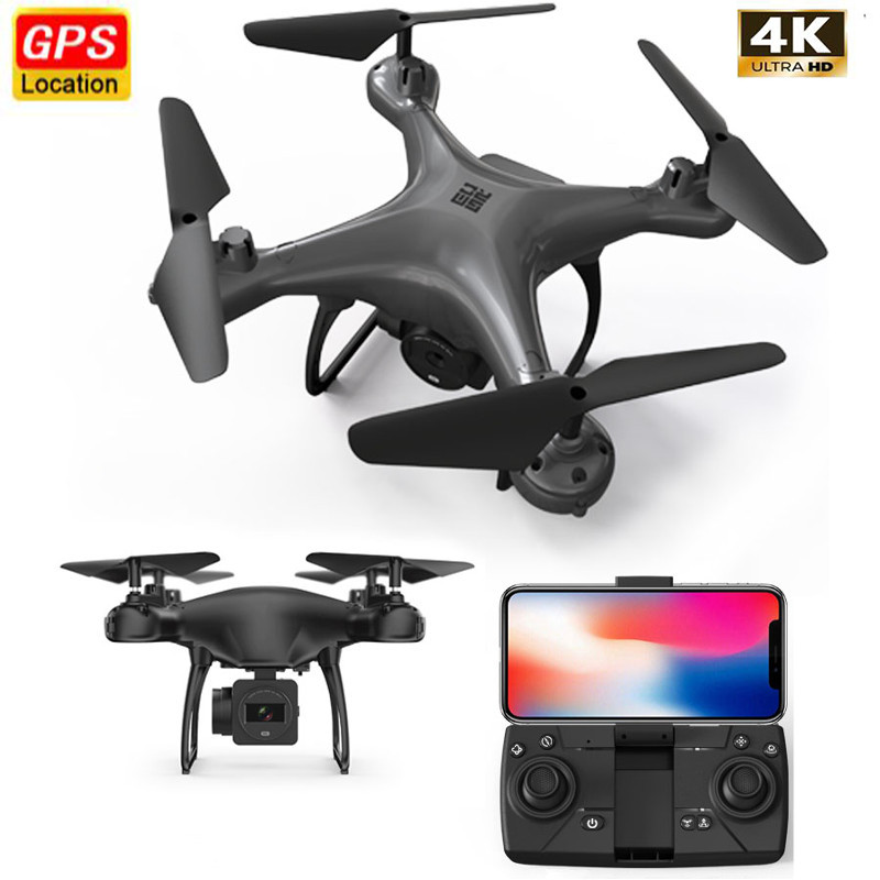 New Mini GPS Drone Camera 4K HD 50x Zoom Follow Me RC Quadcopter 5G WIFI FPV Live Video Drone Profissional Quadrocopter