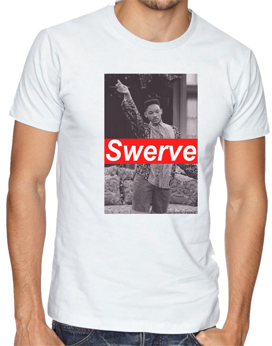 Will Smith Swerve Swag Funny Fresh Prince 90/'s 80/'s Men Women Unisex T-shirt 254