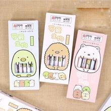 48 pcs/lot Kawaii Erasable Sumikko Gurashi Gel Pen Cute 0.5 mm Signature Pens School Office writing Supplies Promotional Gift