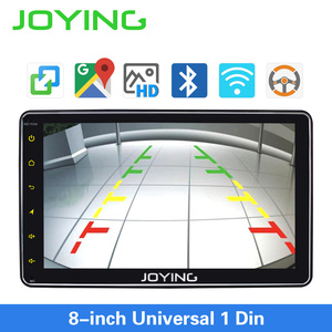 Image 4 - JOYING single din universal car radio 8 inch IPS screen autoradio head unit GPS suport mirror link& fast boot&s*back up camera