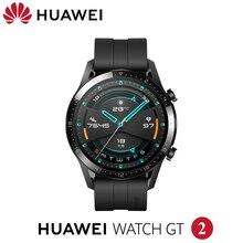 Auf lager Huawei Uhr GT 2 Smart uhr Bluetooth 5,1 Smartwatch Blut Sauerstoff 14 Tage Anruf Herz Rate Für android iOS