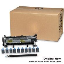 ใหม่สำหรับ HP M601 M602 M603 M604 M605 M606 Fuser Kit Fuser ASSEMBLY ชุดซ่อมบำรุง CF065A CF064A F2G77A F2G76A