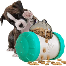 Multifunction Pet Puzzle Toys Dogs Tumbler Leaking Food Feeding Toys Swing Fun Relieving Boring Attract Pet Rolling Bowl for Cat