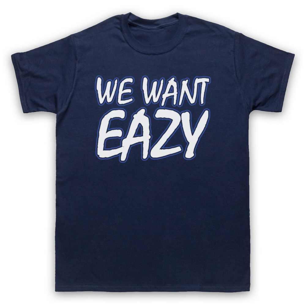 NWA n.w/EAZY E мы хотим гангста рэп хип хоп Повседневная футболка для взрослых и детей