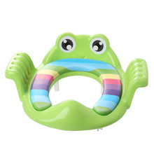 Baby Child Potty Toilet Trainer Seat Step Stool Ladder Adjustable Training Chair comfortable cartoon cute toilet seat children