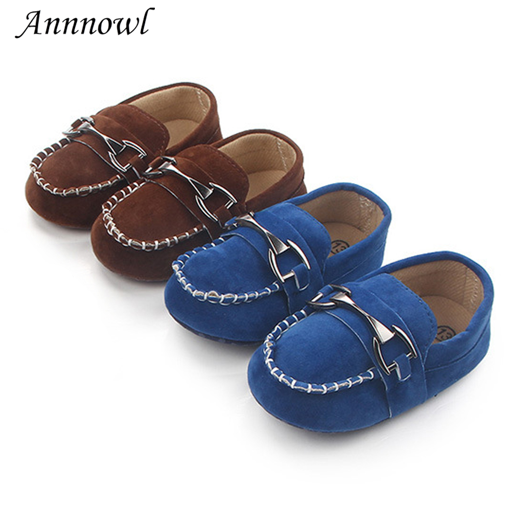 Newborn Baby Crib Shoes Infant Boys Shoes for 1 Year Old Loafers Soft Sole Toddler Trainers Tenis Funny Doll Gifts Accessories