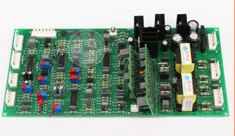 NBC500/350 Gas Shielded Welding Machine Control Panel With Welding Function Single Tube IGBT Circuit Board