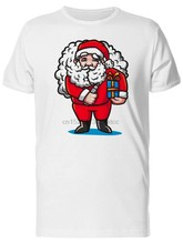 Santa Claus With Vape MenS Tee -Image By Gyms Fitness Tee Shirt(China)