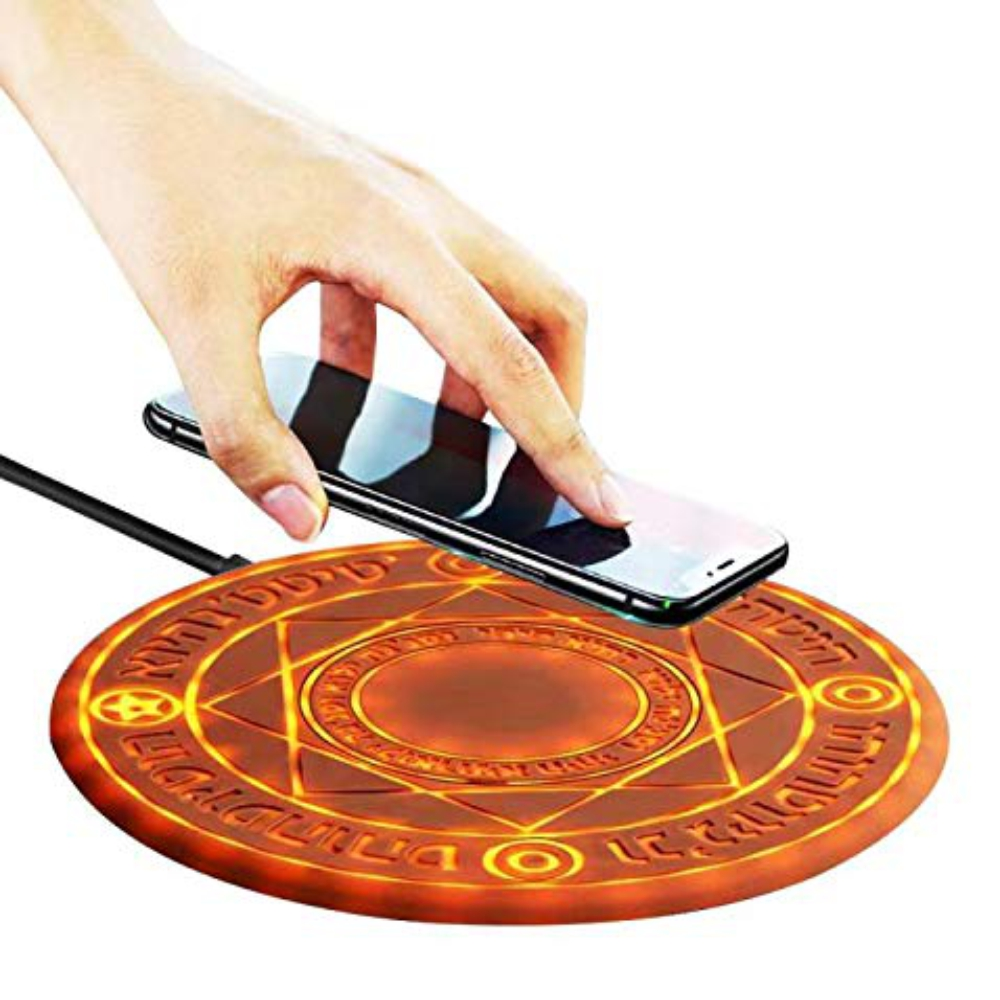 Magic Array Charger Universal Fast Charging Wireless Charger ABS Cartoon Shining Teenager Birthday Gift Android /iPhone Charger
