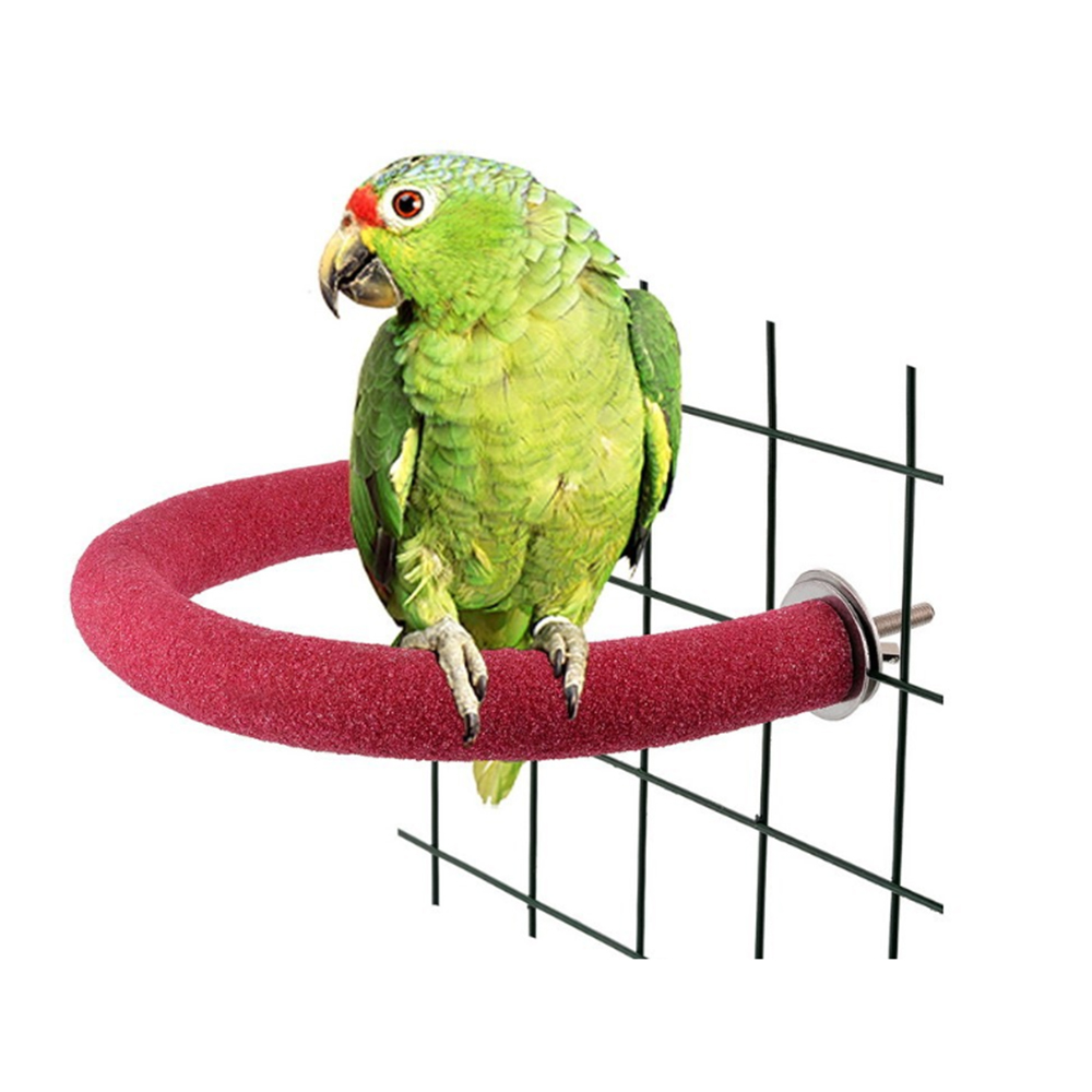 Parrot Frosted Stand Bar Bird Cages Toy Claw Sticks Pet Parrot Toys Sanding Rod Accessories