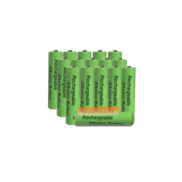 Batería alcalina AAA de 2100mah y 1,5 V, batería recargable AAA para Control remoto, batería de luz de juguete, envío gratis