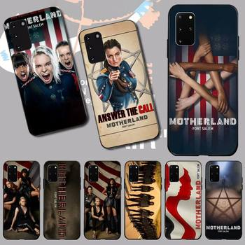 NBDRUICAI Motherland Fort Salem Phone Case for Samsung S20 plus Ultra S6 S7 edge S8 S9 plus S10 5G image