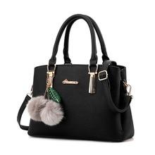 2019 Bag Distribution Furry Ball Wish Pattern Handbag Shell on Behalf of Women's Bag Leathe