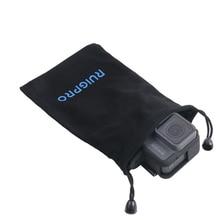 Nylon Collection Storage Bag Case for Go Pro Hero 7 Session 6 5 4 3 GoPro SJCAM SJ6 SJ4 Xiaomiyi 4k Action Camera Accessories цена