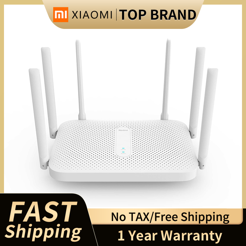 Xiaomi Redmi AC2100 Wireless Route Gigabit 2.4G 5.0GHz Dual-Band 128M RAM Coverage External Signal Amplifier Repeater PPPOE 1