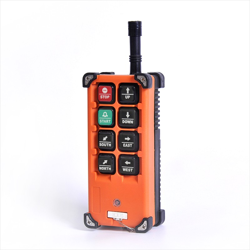 Image 3 - Industrial Wireless f21 e1b Single Speed 8 Buttons F21 E1B Hoist Remote Control (1 Transmitter+1 Receiver) for Crane f21 e1bRemote Controls   - AliExpress